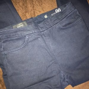 Navy blue j crew dannie pants
